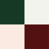 Combo (moss, silver, pink, maroon)